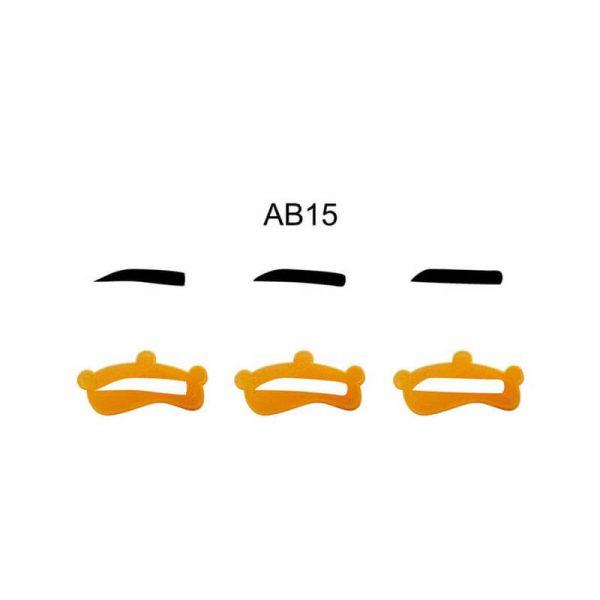 قاب ابرو AB15 بسته 3 عددی