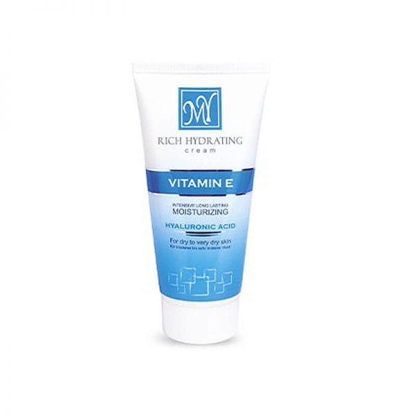 کرم مرطوب کننده صورت مای حاوی ویتامین E مناسب پوست خشک و خیلی خشک حجم 50 میل