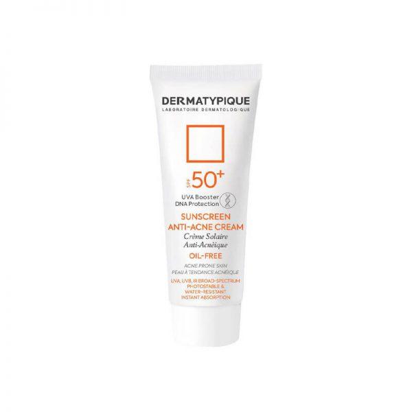 ضد آفتاب و ضدجوش درماتیپیک SPF50 مناسب پوست چرب و جوش دار حجم 40 میل