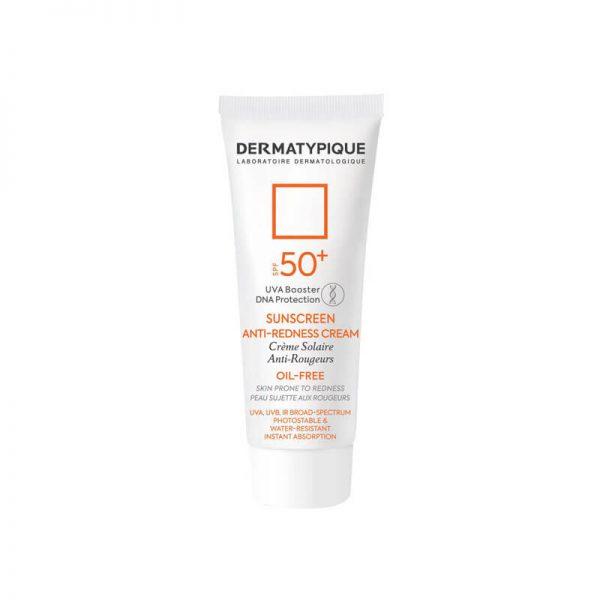 ضد آفتاب و ضد قرمزی درماتیپیک SPF50 مناسب پوست حساس حجم 40 میل