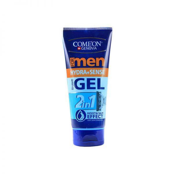 ژل اصلاح ریش مردانه کامان مناسب پوست حساس حجم 175 میل
